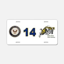 USNA Rampaging Goat Aluminum License Plate