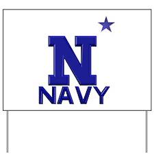 US Naval Academy Yard Sign