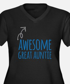 Awesome Great Auntie Plus Size T-Shirt