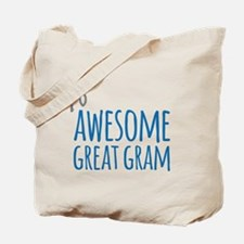 Awesome Great Gram Tote Bag