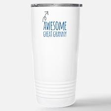 Awesome Great Granny Travel Mug