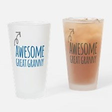 Awesome Great Granny Drinking Glass
