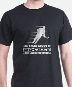 Cute Ice skating hockey T-Shirt