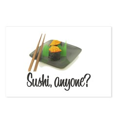 Sushi Anyone? Postcards (Package of 8)