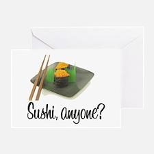 Sushi Anyone? Greeting Card