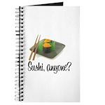 Sushi Anyone? Journal