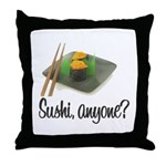 Sushi Anyone? Throw Pillow
