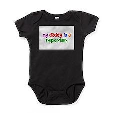 Cute Reporter Baby Bodysuit