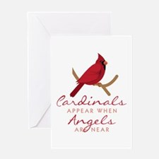 Cardinals Appear Greeting Cards