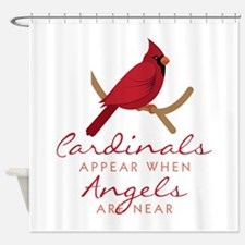 Cardinals Appear Shower Curtain