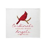 Cardinal Fleece Blankets