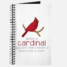 When Cardinal Appears Journal