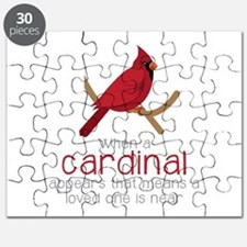 When Cardinal Appears Puzzle