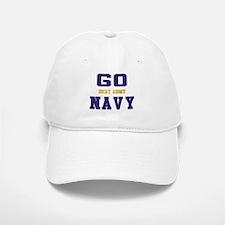 Go Navy, Beat Army! Baseball Baseball Cap