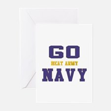 Go Navy, Beat Army! Greeting Cards (Pk of 10)