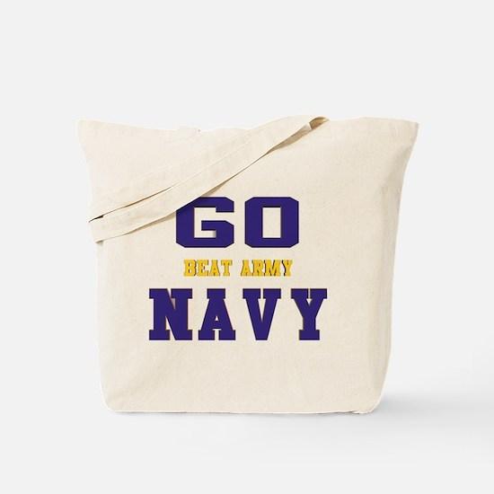 Go Navy, Beat Army! Aluminum Photo Tote Bag