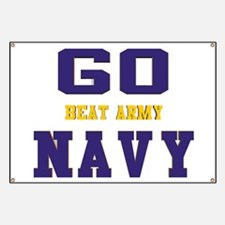 Go Navy, Beat Army! Banner