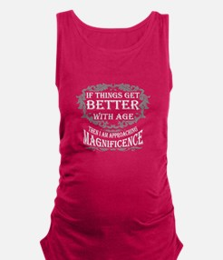 Funny Aged Maternity Tank Top