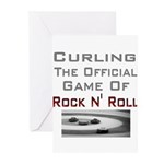 Curling-The Official Game Of Greeting Cards (Pk o