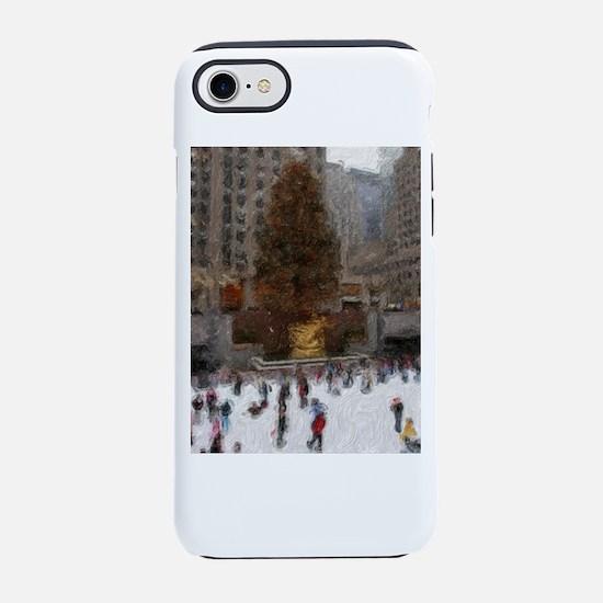 rockefellertreeimp.png iPhone 8/7 Tough Case