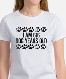 I Am 616 Dog Years Old T-Shirt
