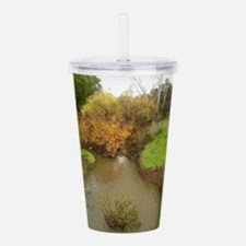 Guadalupe river San Jo Acrylic Double-wall Tumbler