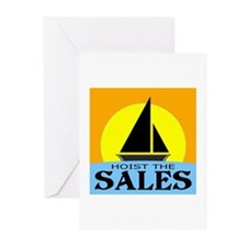 """""""Hoist The Sales"""" Greeting Cards (Pk of 20)"""
