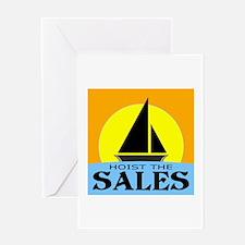 """Hoist The Sales"" Greeting Card"