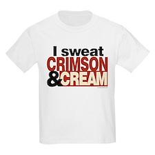 i Sweat Crimson and Cream T-Shirt