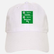 Outer Banks Route 12 Sign Baseball Baseball Cap