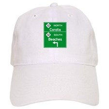 Outer Banks Route 12 Sign Baseball Cap