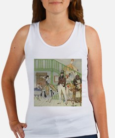 Kay Nielsen - Backstage at the Fo Women's Tank Top