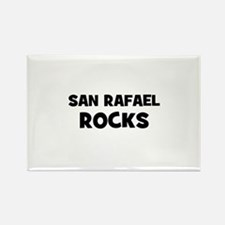 San Rafael Rocks Rectangle Magnet
