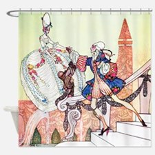 Kay Nielsen - Prince Charming and C Shower Curtain