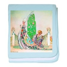 Kay Nielsen - Princess and the Garden baby blanket
