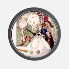 Kay Nielsen -Bluebeard and his Bride Wall Clock