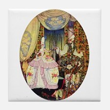 Kay Nielsen - French Lord and Lady Tile Coaster