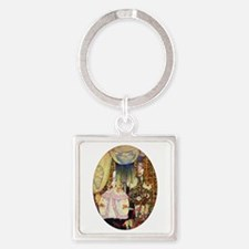 Kay Nielsen - French Lord and Lady Square Keychain