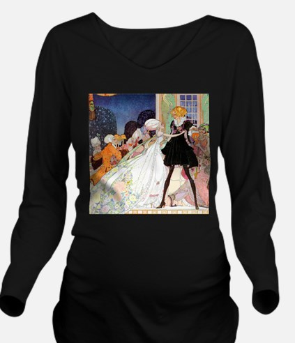 Kay Nielsen - Cinder Long Sleeve Maternity T-Shirt