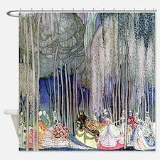 Kay Nielsen - Twelve Dancing Prince Shower Curtain