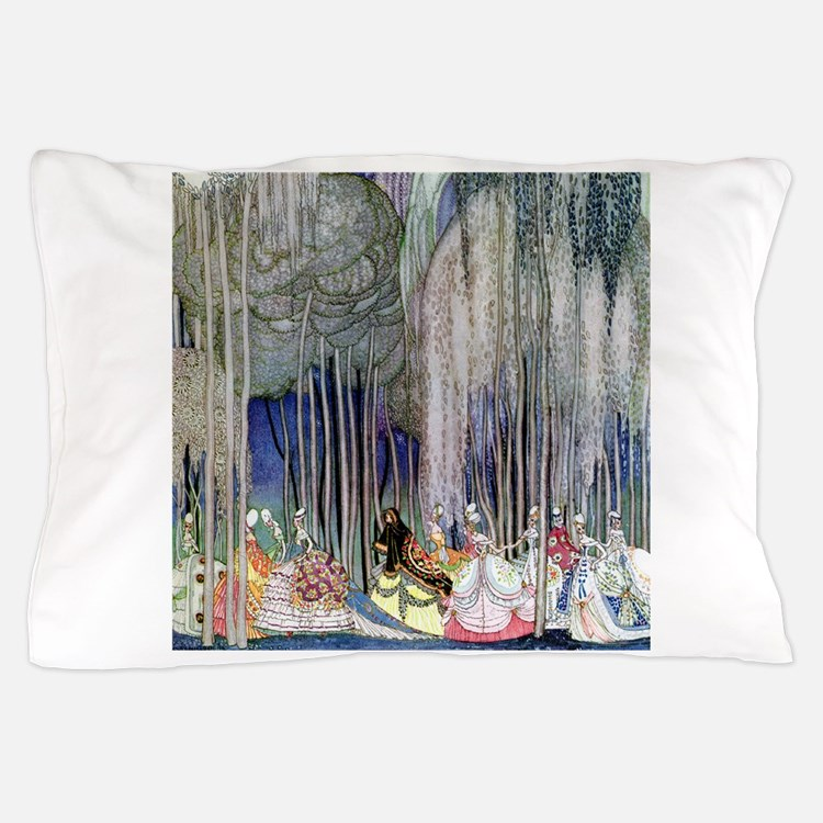 Kay Nielsen - Twelve Dancing Princesse Pillow Case
