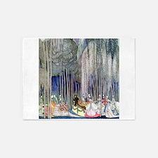 Kay Nielsen - Twelve Dancing Prince 5'x7'Area Rug