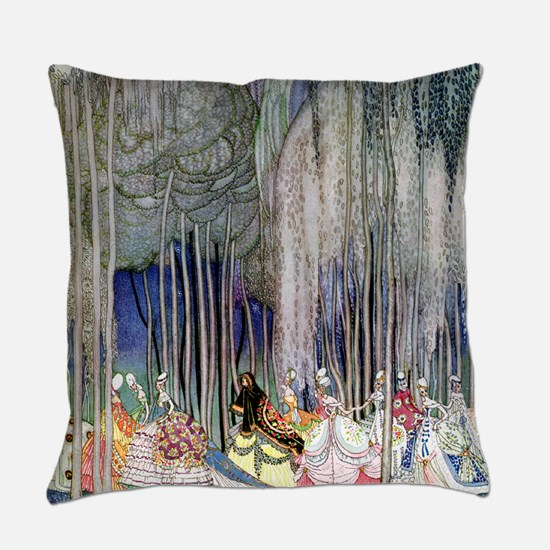 Kay Nielsen - Twelve Dancing Princ Everyday Pillow