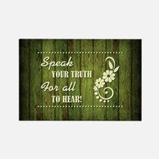 SPEAK YOUR TRUTH Magnets