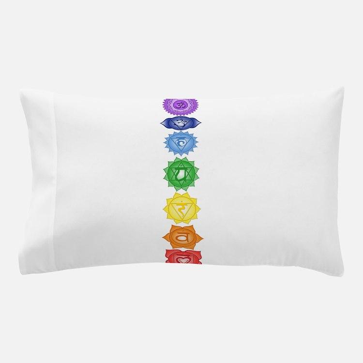Chakra Symbols Pillow Case