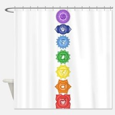Chakra Symbols Shower Curtain