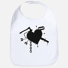 Dark Heart Bib