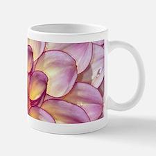 Beautiful pink dahlia flowers Mugs