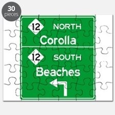 Outer Banks Route 12 Sign Puzzle