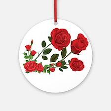 Roses Round Ornament